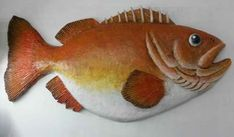 kelvin's paper mache fish