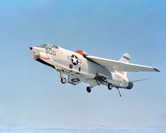 The Vought RF-8A Crusader, based in Key West, Florida, flew dangerous low-level photo-reconnaissance missions for the U.S. Navy.