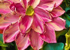Cuadros de Flores conRelieve Pinturas de Flores conRelieve Arte en Pinturas al Óleo de Flores Flores en Relieve Flores en Relieve ...