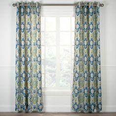 Tuscany Grommet Top Window Curtain Panel - BedBathandBeyond.com