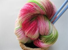 Sussex yarn-hand dyed Romney