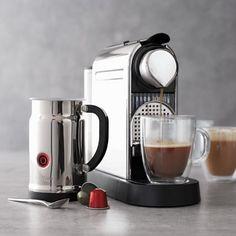 Nespresso® CitiZ & Milk Espresso Machine, Chrome