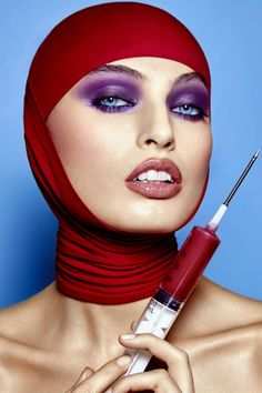 Pop of Colour by Frank Mijares for Beauty SCENE - Beauty Scene