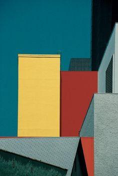 Franco Fontana, LA #block #colours #feb31st