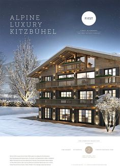First Kitzbühel - The Real Estate Company Real Estate Companies, Interiordesign, High, Luxury, Exercise Rooms, Addiction, Real Estate
