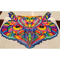 Took me forever to make, it was worth it Owl Perler for EDC LAS VEGAS 2016 ❤... | Iconosquare