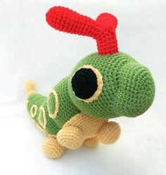Pokédex # 010 Caterpie #pokemon #amigurumi