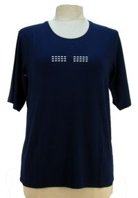 T-Shirt manches courtes marine LAVALLIERE Griffon