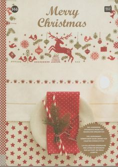 Rico Design: Merry Christmas From Rico Design - Books and Magazines - Books and Magazines - Casa Cenina Christmas 2014, Christmas Cross, Merry Christmas, Xmas, Cross Stitch Magazines, Cross Stitch Books, Magazine Cross, Christmas Embroidery Patterns, Rico Design