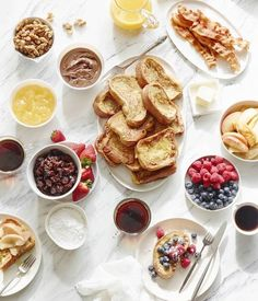 French Toast Bar: What a fantastic idea for a Father's Day brunch (or any brunch really) | What's Gaby Cooking