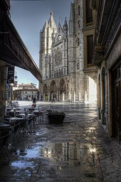 Leon cathedral - Spain