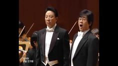 From Korean song concert: Tenor Na Seung seo 나승서 and Baritone 장유상 singing a duet.