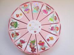 Torte / Gastgeschenk zum Kindergeburtstag, Feen von Deko-Ideenreich auf DaWanda.com