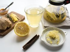 Cold & Flu: Ginger-Lemon Tea
