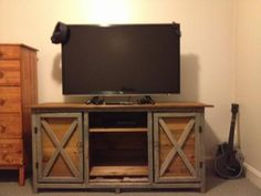 Farmhouse TV Stand | Do It Yourself Home Projects from Ana White