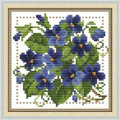 Doprava zdarma Needlework, DIY Cross Stitch, Súpravy pre vyšívanie výstroje, dvanásť mesiacov flower februára Počítal Cross-šitie