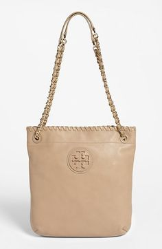 Tory Burch 'Marion - Book Bag' Leather Tote available at #Nordstrom