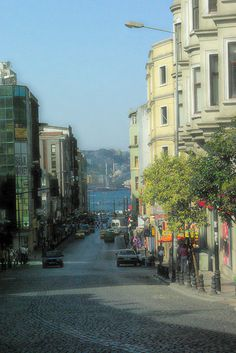 Cagaloglu Down-hill, view from Sultanahmet