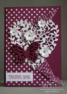 """Stampin' Up! projects; paper craft & rubber stamping for card making, scrapbooking, off the page projects, craft techniques, bags, boxes & supplies."""