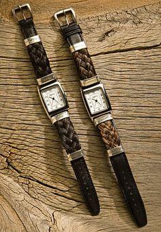 Horse Hair Watch Wide Width Style   eBay