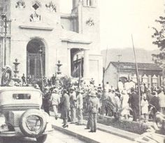 Años 20. Panteón Nacional. Caracas, Venezuela.