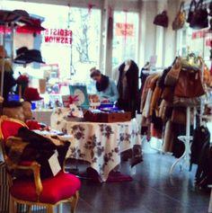 Redistributing Fashion Luxury Pop Up Shop - Feb 2013