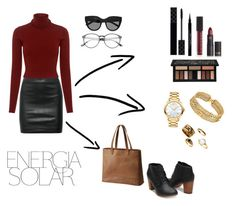 """""""ENERGIA SOLAR"""" by emma-camilleri on Polyvore featuring The Row, A.L.C., SOREL, Kat Von D, Givenchy, Gucci, Lipstick Queen, Chanel, Movado and Le Specs"""