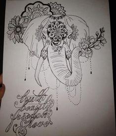 Moulin Rouge Elephant by Jaz-aroni on @DeviantArt