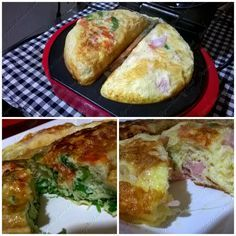 Como fazer Omelete leve e fofinha na omeleteira fun kitchen!!