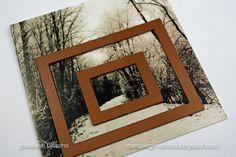StampingMathilda: Darkroom Door - Frame card
