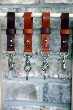 Handmade leather lanyard #giveaway at 9pm tonight (Monday, 9/22/14)! Head to the Hides and Stitches Facebook page to enter!