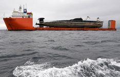 Rusty Russian Submarine 8