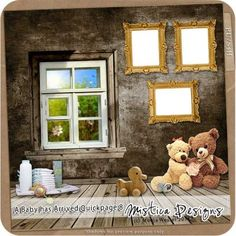 Printable Scrapbooking A Baby has Arrived Quickpage 8 (PU/S4H) by Mistica Designs