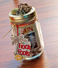 Mason Jar Mini Album
