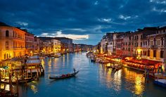 Venice, Italy | http://www.thebeautyoftravel.com/top-7-waterfront-cities/2/