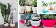 Passo a passo para deixar um vaso de terracota lindo! Neste vídeo de DIY, ensino a fazer vasos pintados cheios de estilo e super fácil.