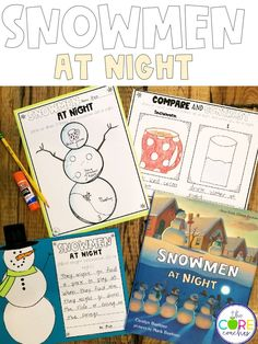 Lesson plans and activities for Snowmen At Night