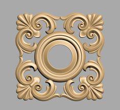A873 Wood Carving Art, Wood Art, Wood Appliques, 3d Cnc, Carving Designs, Ornaments Design, Wood Design, Beautiful Roses, Laser Engraving