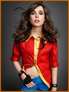 Wonder Woman Ellen Page.