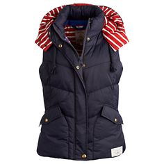 Joules - Charmwood Hooded Gilet Jacket.