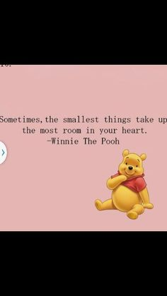 When i was little all the things winnie used to say made no sense to me but now.. i get it and now i can relate