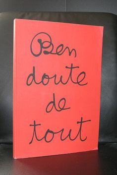Ben Vautier, Fluxus# BEN DOUTE DE TOUT# 1995, nm