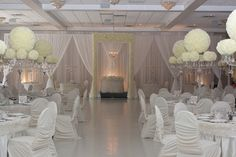 Absolutely Stunning work done by RL Designs Inc. http://www.weddingshows.com