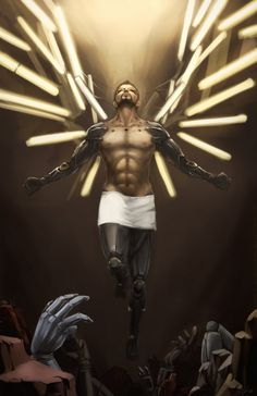 Deus Ex Mankind Divided : Adam Reborn by slifertheskydragon