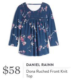 Daniel Rainn Dona Ruched Front Knit Top from Stitch Fix