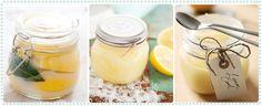 Oh my! Preserved Lemons, Lemon Salt Scrub and Lemon Curd!