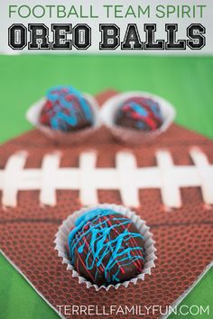 Football OREO Cookie