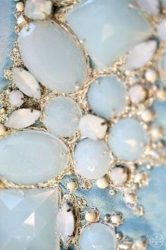 babyblue.quenalbertini: Pale blue jewel    Tory Burch