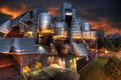 Weisman sunset by Bill Donovan