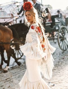 spanish style homes dfw Spanish Style Weddings, Mexico Fashion, Style And Grace, Military Fashion, Military Style, Traditional Outfits, Passion For Fashion, Marie, Fashion Dresses